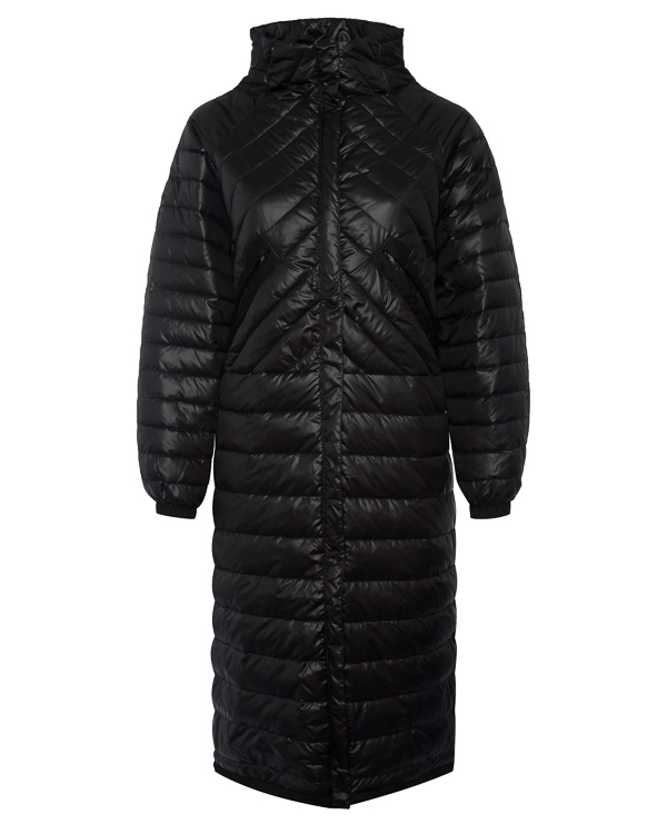пальто прямого объемного силуэта с карманами артикул R014 марки 5Preview купить за 17200 руб.