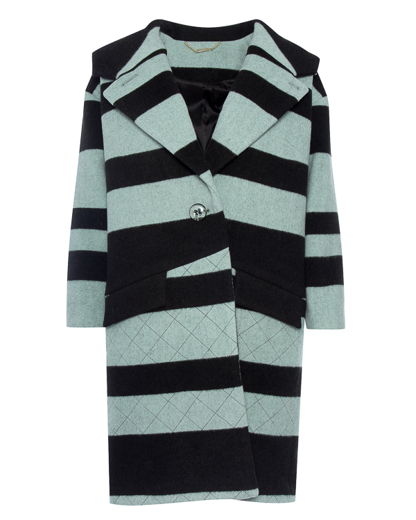 пальто из плотной шерсти с карманами артикул R020 марки 5Preview купить за 23300 руб.