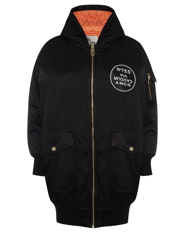 куртка удлиненного силуэта с капюшоном артикул R031-5P марки 5Preview купить за 11400 руб.