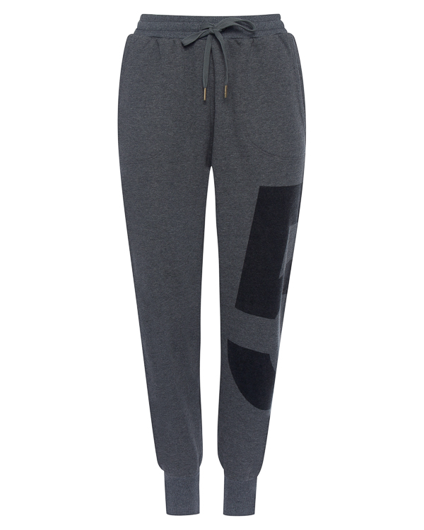 брюки из трикотажного хлопка с принтом  артикул R361 марки 5Preview купить за 5700 руб.
