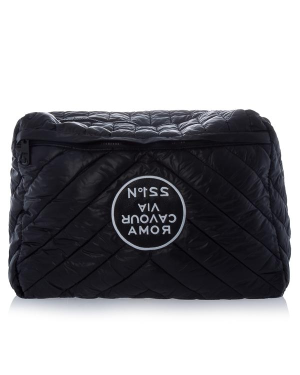 сумка из стеганого материала с аппликацией артикул R504 марки 5Preview купить за 6900 руб.