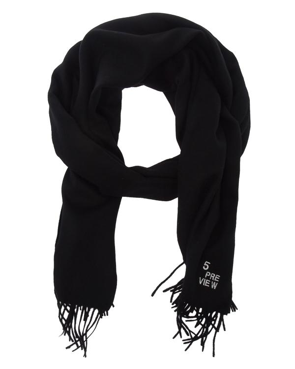 шарф с вышивкой и бахромой артикул R565 марки 5Preview купить за 7000 руб.