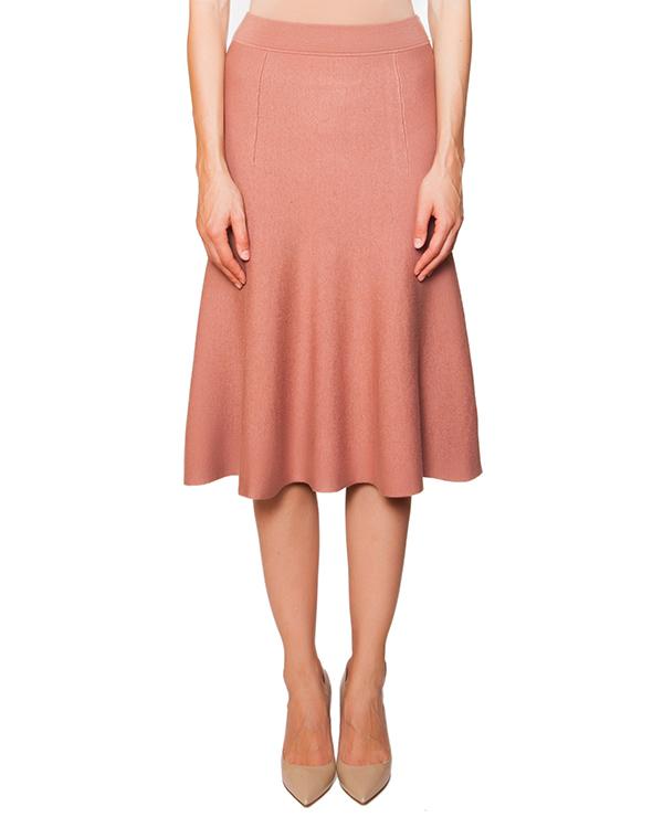 юбка из мягкого полушерстяного трикотажа артикул RAMY560515 марки P.A.R.O.S.H. купить за 4400 руб.