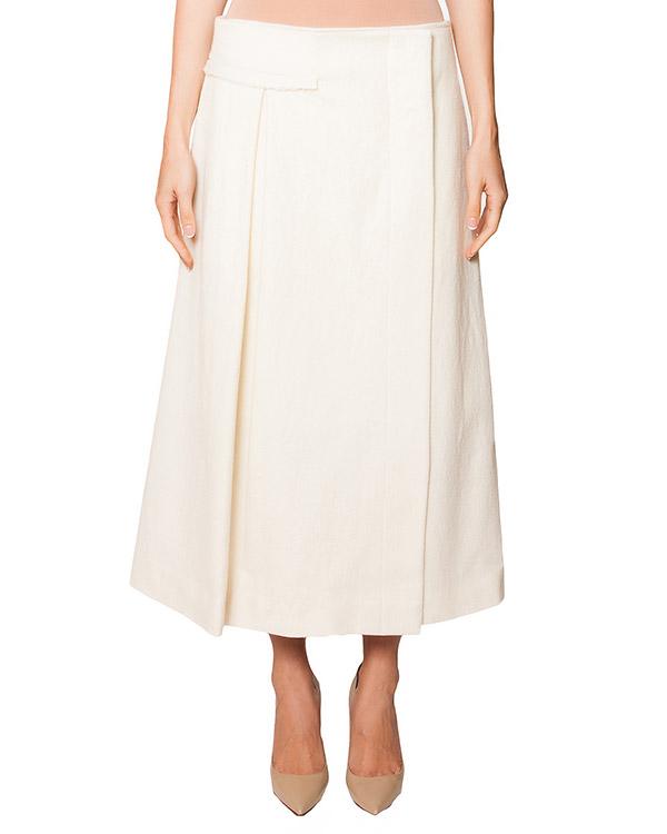 юбка оригинального кроя из плотной мягкой шерсти артикул RANAY марки Damir Doma купить за 19800 руб.