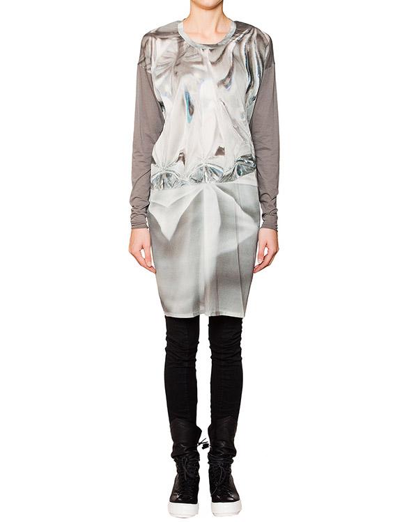 ROQUE ILARIA NISTRI из легкой шелковой ткани с абстрактным рисунком артикул RCAY295-18 марки ROQUE ILARIA NISTRI купить за 7800 руб.