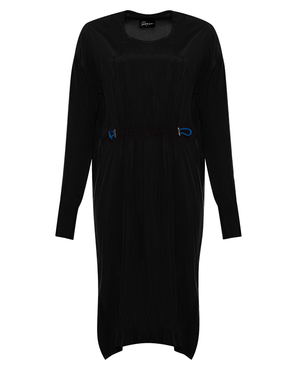платье асимметричного кроя с удлиненными рукавами артикул RGAY700/9 марки ROQUE ILARIA NISTRI купить за 12200 руб.