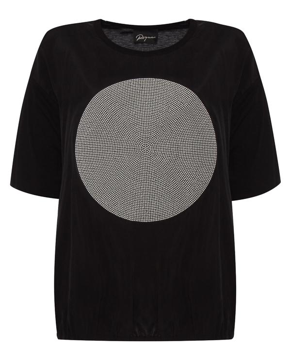 футболка из трикотажного хлопка с добавлением ангоры артикул RGMX740/13 марки ROQUE ILARIA NISTRI купить за 12000 руб.