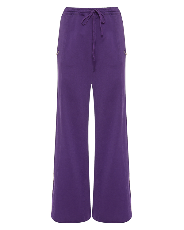 брюки свободного силуэта из хлопка  артикул RHPY815/1 марки ROQUE ILARIA NISTRI купить за 16000 руб.