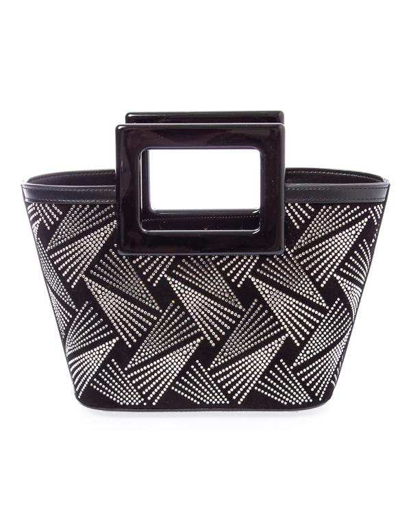 сумка MARINA RAPHAEL RIVIERA MICRO8001 UNI черный+серебряный