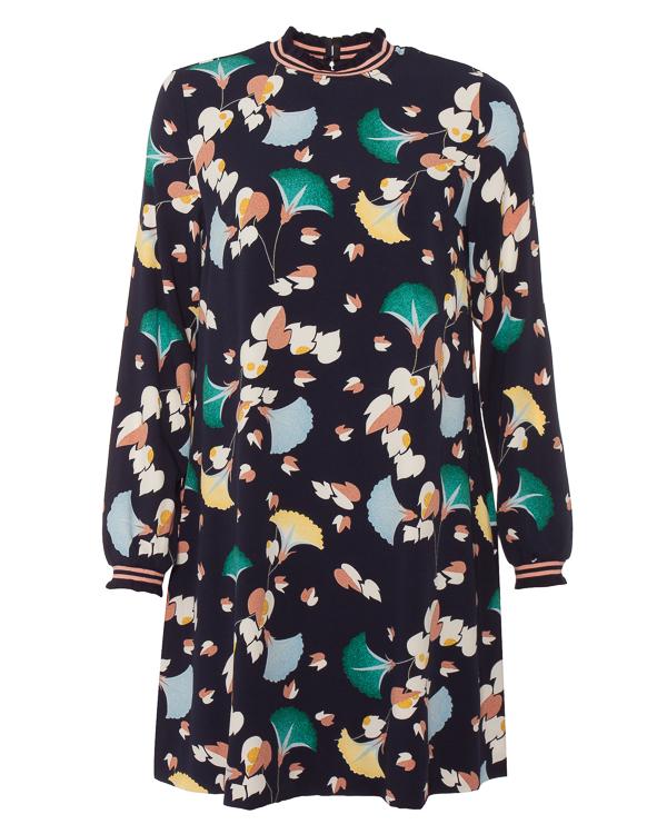 платье мини из крепа прямого силуэта  артикул ROSEMARY марки Essentiel купить за 21000 руб.