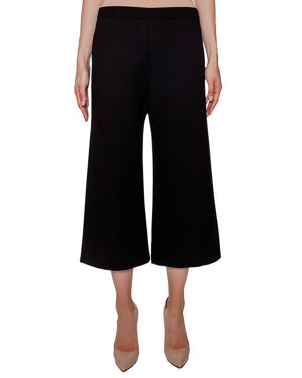 брюки кюлоты из мягкого трикотажа и шерсти артикул RYAN230109 марки P.A.R.O.S.H. купить за 7300 руб.