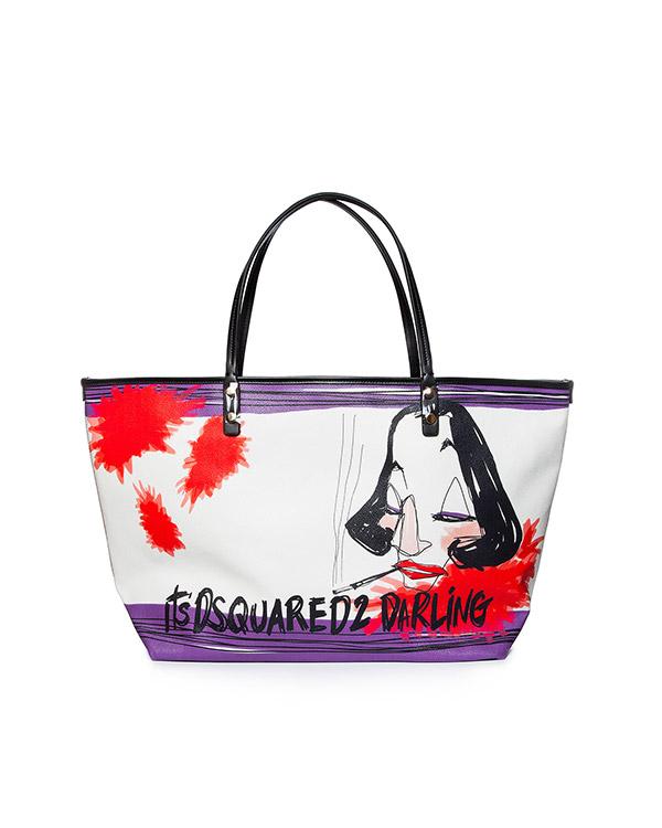аксессуары сумка DSQUARED, сезон: лето 2015. Купить за 7200 руб. | Фото $i