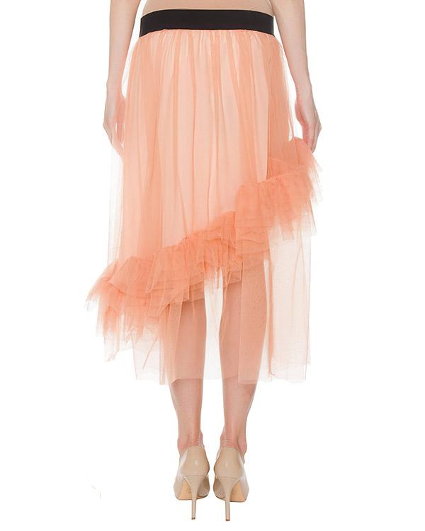 Юбка персикового цвета