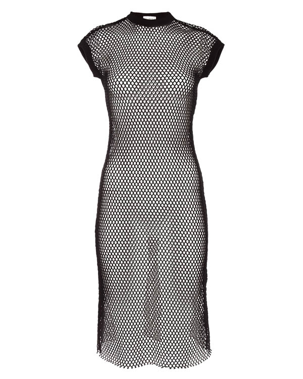 платье миди из эластичной сетки артикул S180083 марки MRZ купить за 29500 руб.