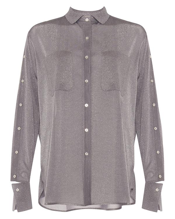 блуза свободного силуэта из вискозы артикул S180096 марки MRZ купить за 37400 руб.