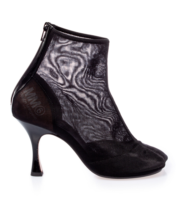 MM6 Maison Margiela из сетки на скульптурном каблуке  артикул  марки Maison Martin Margiela купить за 27500 руб.