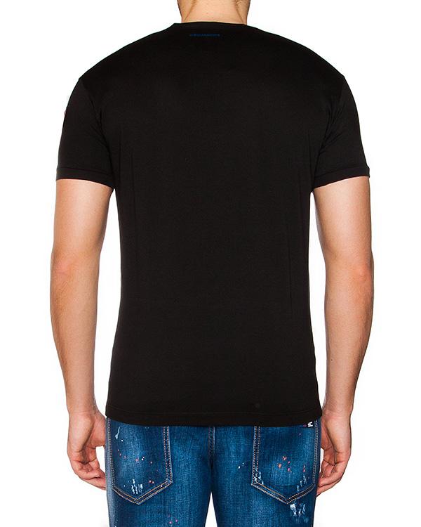 мужская футболка DSQUARED2, сезон: лето 2016. Купить за 7900 руб. | Фото $i