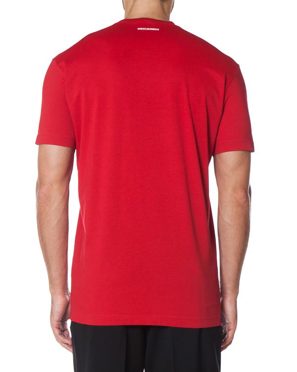 мужская футболка DSQUARED2, сезон: зима 2017/18. Купить за 9100 руб. | Фото $i