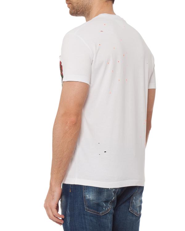 мужская футболка DSQUARED2, сезон: лето 2019. Купить за 12000 руб. | Фото 3