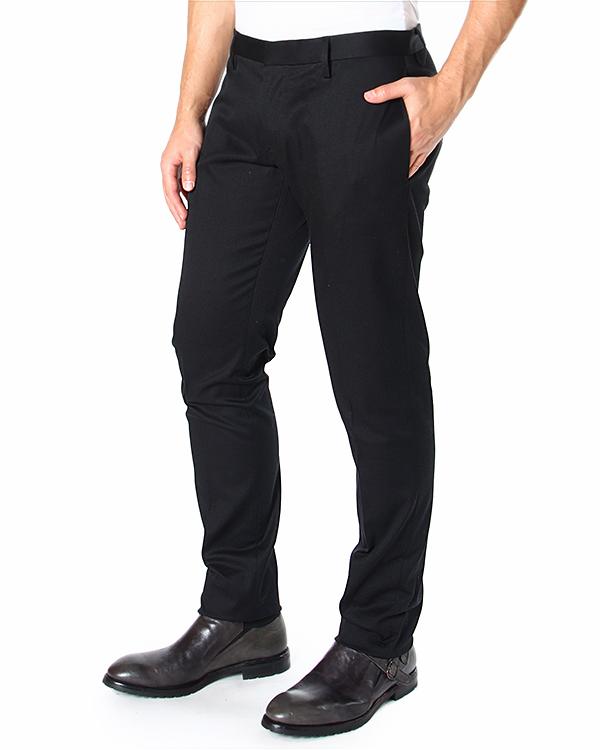 брюки зауженного кроя, из плотного хлопка артикул S71KA0785D марки DSQUARED2 купить за 12900 руб.