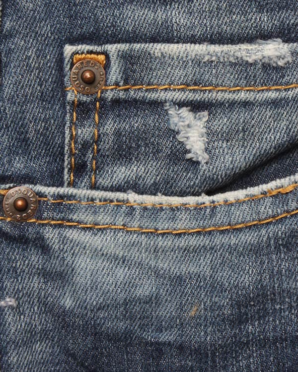 мужская джинсы DSQUARED2, сезон: лето 2017. Купить за 15800 руб.   Фото $i