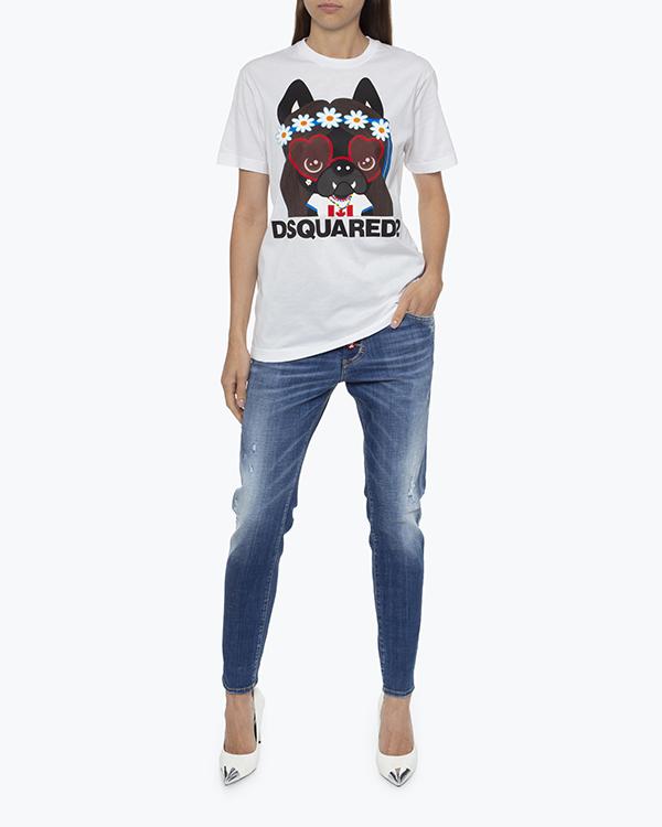Женская футболка DSQUARED2, сезон: лето 2021. Купить за 10700 руб. | Фото 1
