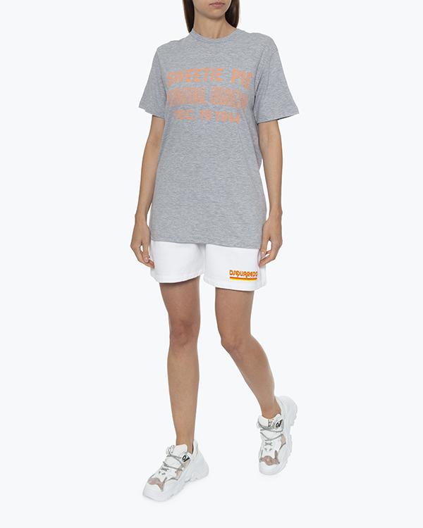 Женская футболка DSQUARED2, сезон: лето 2021. Купить за 11300 руб. | Фото 1