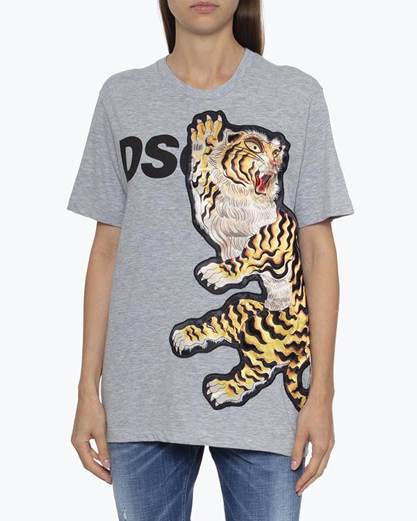 Женская футболка DSQUARED2, сезон: лето 2021. Купить за 20000 руб. | Фото 2