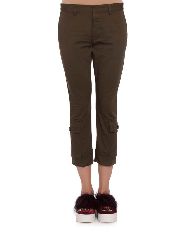 женская брюки DSQUARED2, сезон: зима 2017/18. Купить за 3600 руб. | Фото 1