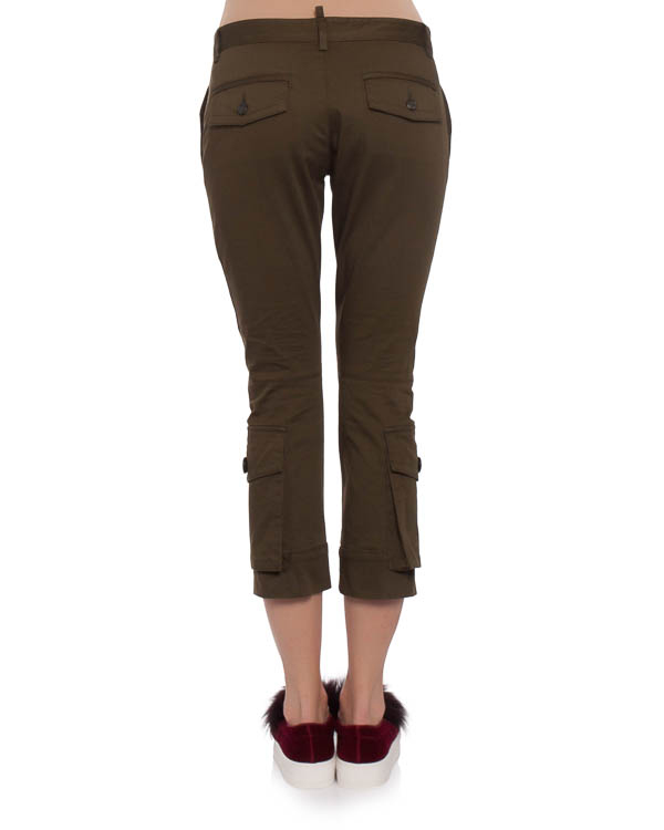 женская брюки DSQUARED2, сезон: зима 2017/18. Купить за 3600 руб. | Фото 2