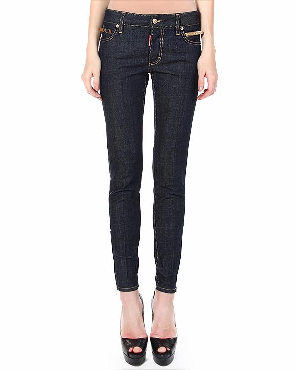 женская джинсы DSQUARED, сезон: зима 2014/15. Купить за 15000 руб. | Фото $i