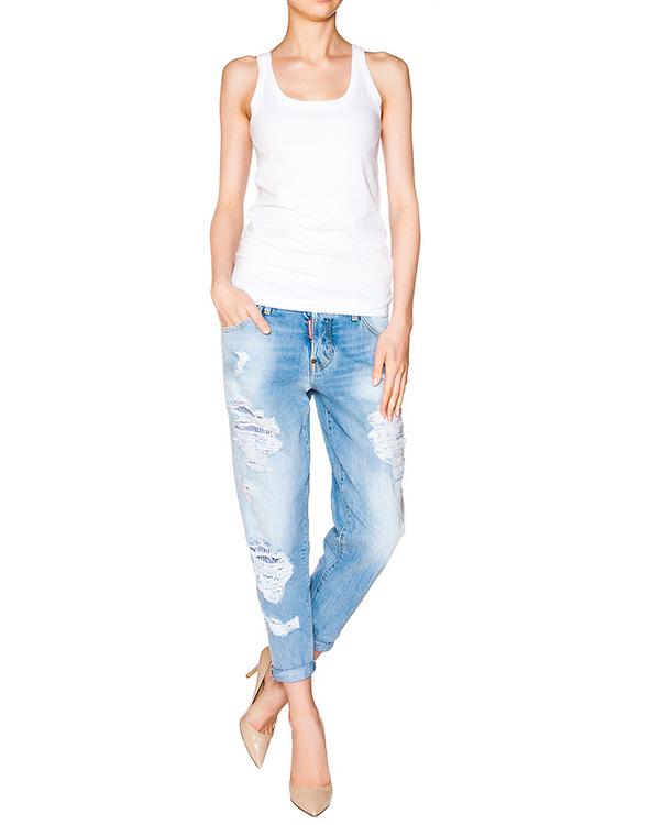 женская джинсы DSQUARED2, сезон: лето 2016. Купить за 27100 руб.   Фото $i