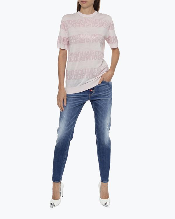 Женская джинсы DSQUARED2, сезон: лето 2021. Купить за 22000 руб.   Фото 1