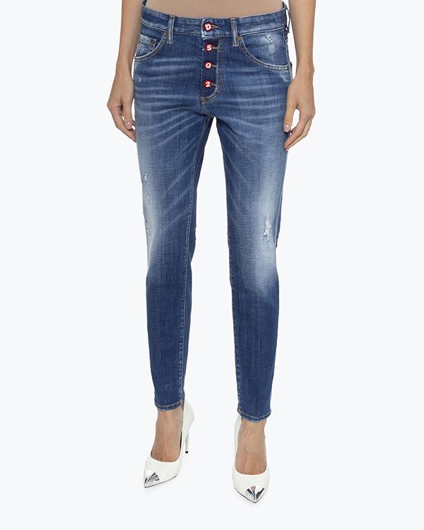 Женская джинсы DSQUARED2, сезон: лето 2021. Купить за 22000 руб.   Фото 2