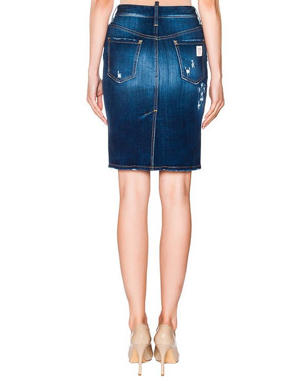 женская юбка DSQUARED2, сезон: лето 2016. Купить за 14500 руб. | Фото $i