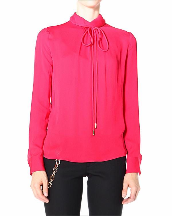 блуза прямого кроя, с застежкой-каплей на спине артикул S72NC0465 марки DSQUARED2 купить за 20400 руб.