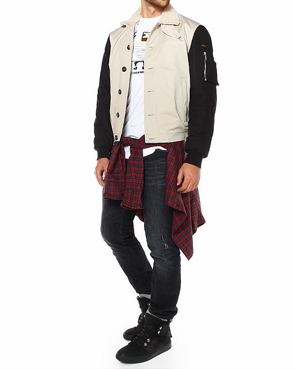 мужская куртка DSQUARED2, сезон: зима 2014/15. Купить за 34300 руб. | Фото $i