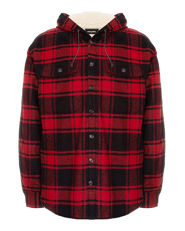 DSQUARED2 рубашечного кроя из шерсти  артикул  марки DSQUARED2 купить за 33200 руб.