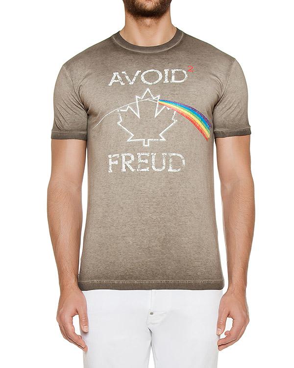 футболка  артикул S74GD0209 марки DSQUARED2 купить за 6200 руб.