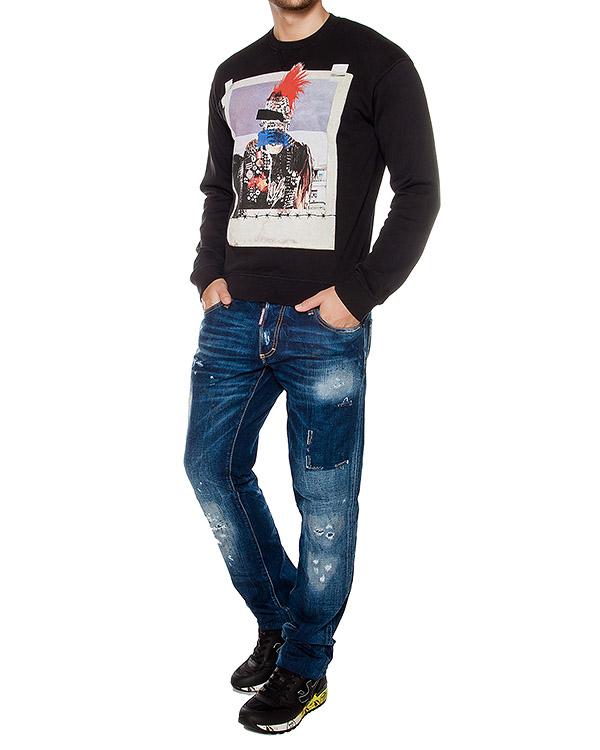 мужская свитшот DSQUARED2, сезон: зима 2016/17. Купить за 11000 руб.   Фото $i