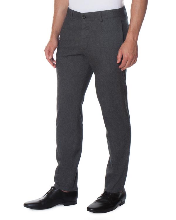 брюки классического кроя из хлопка артикул S74KB0083 марки DSQUARED2 купить за 18800 руб.