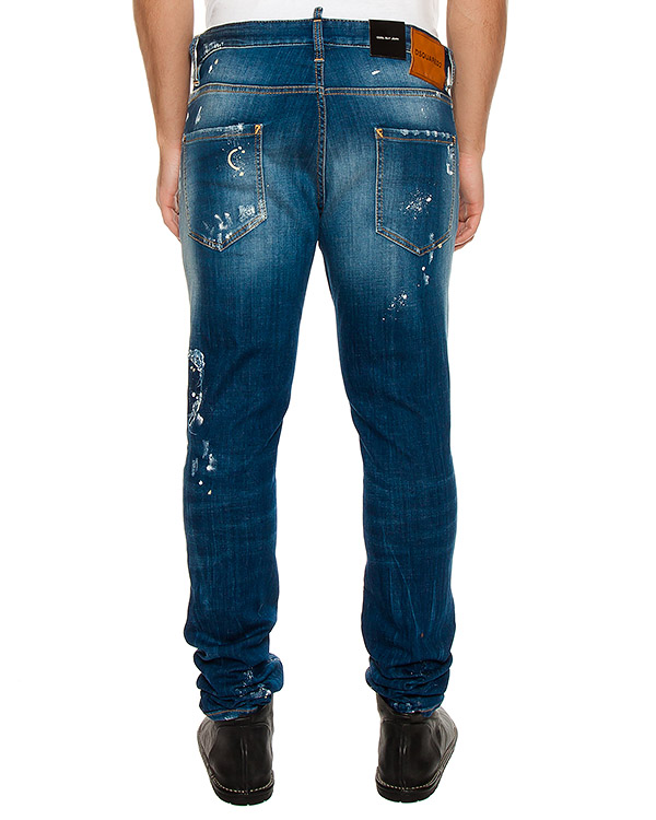 мужская джинсы DSQUARED2, сезон: лето 2017. Купить за 20400 руб. | Фото $i