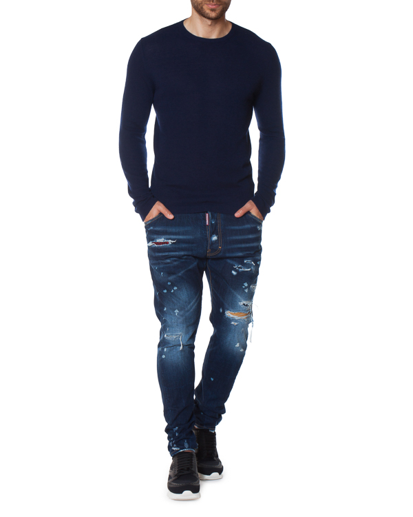 мужская джинсы DSQUARED2, сезон: зима 2017/18. Купить за 28500 руб. | Фото $i