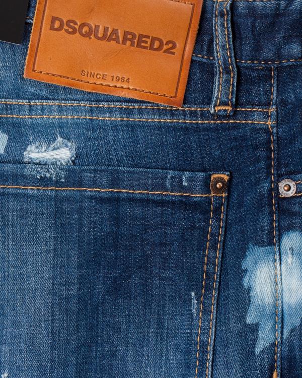 мужская джинсы DSQUARED2, сезон: зима 2017/18. Купить за 21600 руб. | Фото $i