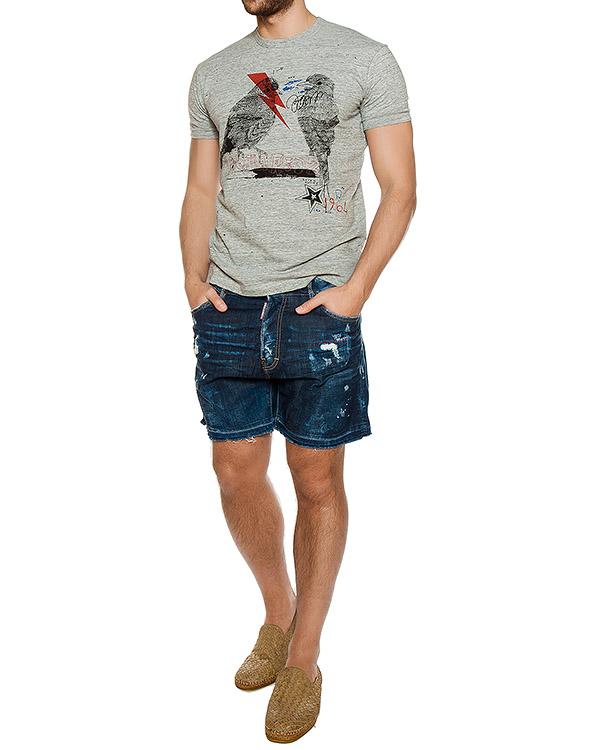 мужская шорты DSQUARED2, сезон: лето 2017. Купить за 11700 руб.   Фото $i