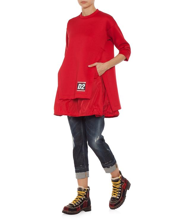 женская платье DSQUARED2, сезон: зима 2018/19. Купить за 41600 руб.   Фото $i