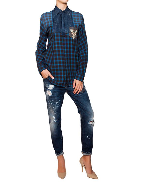 женская рубашка DSQUARED, сезон: зима 2015/16. Купить за 31700 руб. | Фото $i