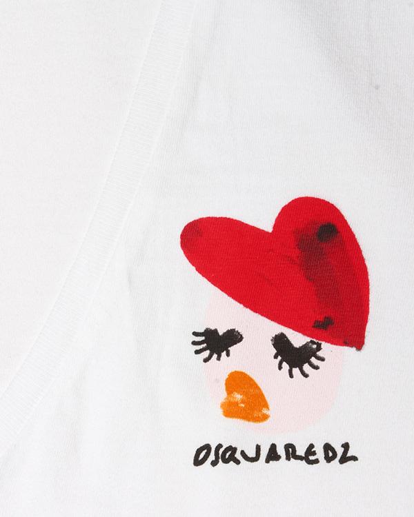 женская футболка DSQUARED2, сезон: лето 2016. Купить за 5300 руб. | Фото $i
