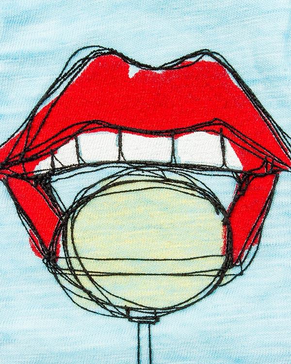 женская футболка DSQUARED2, сезон: лето 2016. Купить за 9700 руб. | Фото $i