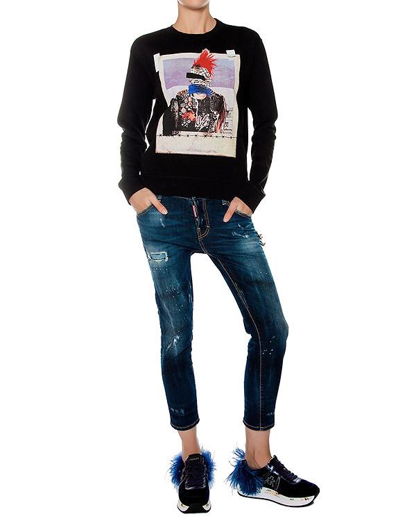 женская свитшот DSQUARED, сезон: зима 2016/17. Купить за 15400 руб. | Фото $i